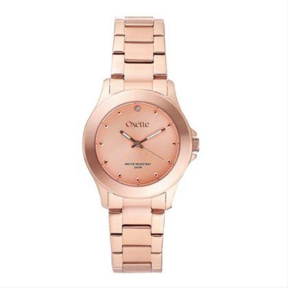 Oxette City Watch Rose Gold Stainless Steel Bracelet 11X05-00380