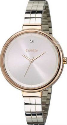 Oxette Divina Two Tone Rose Gold Stainless Steel Bracelet 11X03-00537