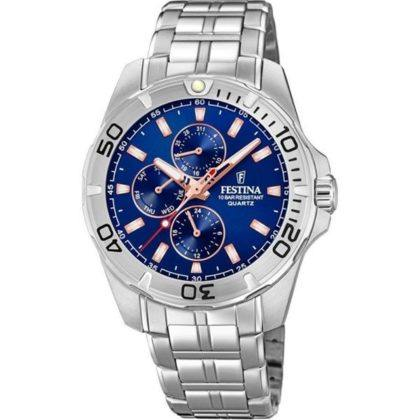 Festina Multifunction Stainless Steel Bracelet F20445/5