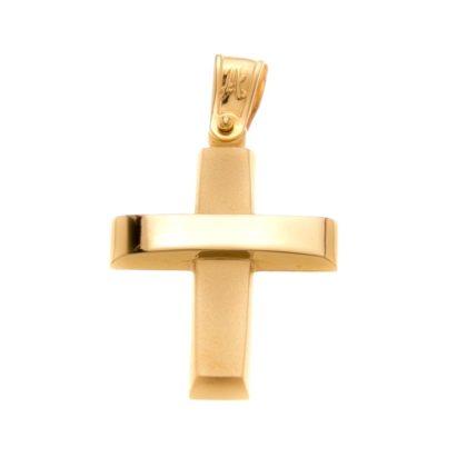 Βαπτιστικός σταυρός χρυσός 14 καρατίων Κ14.88503