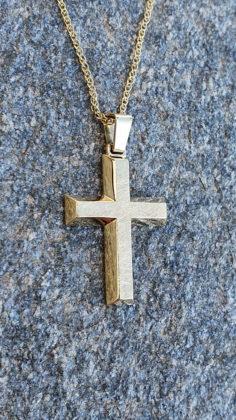 Βαπτιστικός σταυρός χρυσός 14 καρατίων Κ14.88689