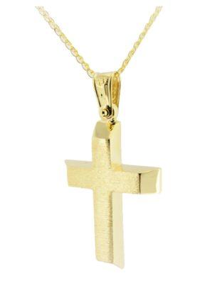 Βαπτιστικός σταυρός χρυσός 14 καρατίων Κ14.88579