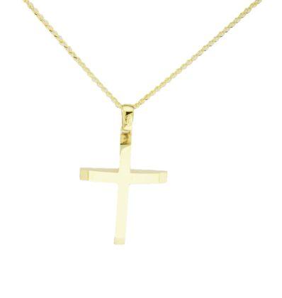 Βαπτιστικός σταυρός χρυσός 14 καρατίων Κ14.88749
